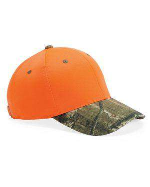 Brand: Outdoor Cap | Style: 202IS | Product: Blaze Cap with Camo Visor