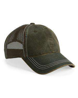 Brand: Outdoor Cap | Style: HPD610M | Product: Weathered Mesh Back Cap