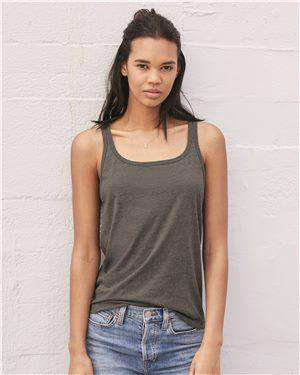 Brand: Bella + Canvas | Style: 6488 | Product: Women's Relaxed Jersey Tank