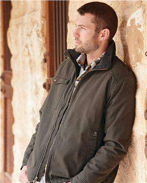 Brand: DRI DUCK | Style: 5037 | Product: Endeavor Canyon Cloth™ Canvas Jacket with Sherpa Lining