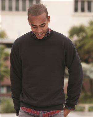 Brand: JERZEES | Style: 4662MR | Product: Super Sweats NuBlend® Crewneck Sweatshirt