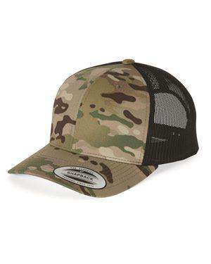 Brand: Yupoong | Style: 6606 | Product: Retro Trucker Cap