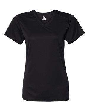Badger Sport Women's B-Core V-Neck T-Shirt - 4162