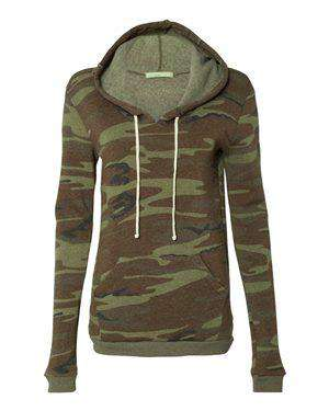 Alternative Women's Slim Fit Hoodie Sweatshirt - 9596