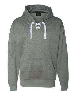 J America Men's Sport Laces Anti-Pill Hoodie Sweatshirt
