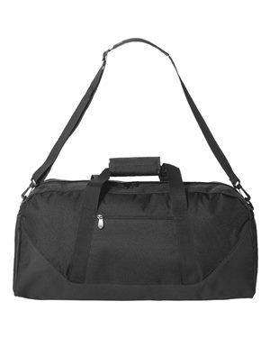 Liberty Bags Black Strap Duffel Bag - 2251