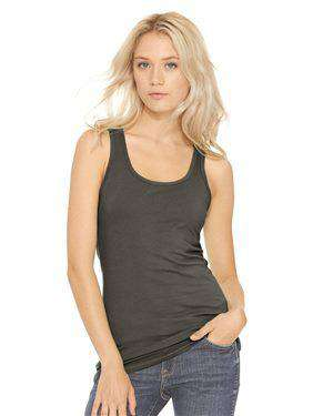 Brand: Next Level | Style: 6633 | Product: Women's Spandex Jersey Racerback Tank