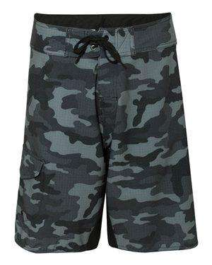 Burnside Men's Drawcord Pocket Board Shorts