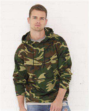 Brand: Code Five | Style: 3969 | Product: Adult Camo Pullover Fleece Hoodie