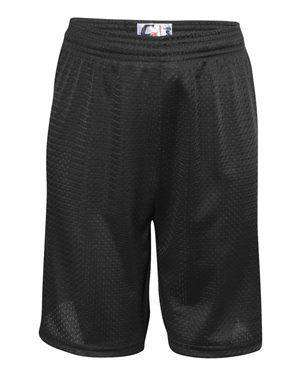 C2 Sport Youth Tricot Mesh No Drawcord Shorts