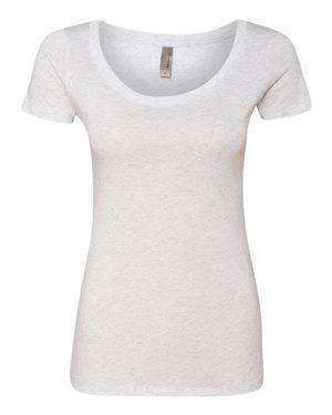 Next Level Women's Tri-Blend Scoop Neck T-Shirt