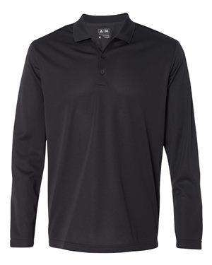 Adidas Men's Climalite Long Sleeve Polo Shirt - A186