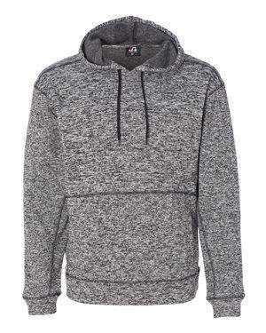 J America Men's Fleck Fleece Hoodie Sweatshirt
