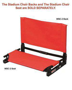Brand: The Stadium Chair | Style: WSC2 SEAT | Product: Wide Folding Stadium Chair Seat