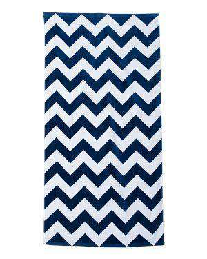 Carmel Towel Company Chevron Beach Towel