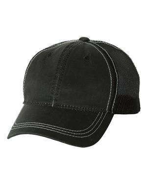 Outdoor Cap Weathered Mesh-Back Trucker Cap - HPD610M