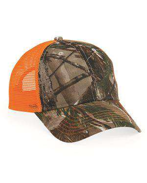 Brand: Kati | Style: LC5M | Product: Camo Mesh Back Cap