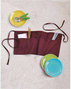 Brand: Q-Tees | Style: Q2115 | Product: Waist Apron with Pockets