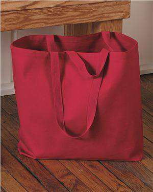 Brand: Q-Tees | Style: Q600 | Product: 24.5L Jumbo Canvas Tote