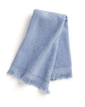Brand: Q-Tees | Style: T100 | Product: Fringed Fingertip Towel