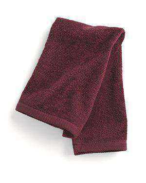 Brand: Q-Tees | Style: T600 | Product: Hemmed Fingertip Towel
