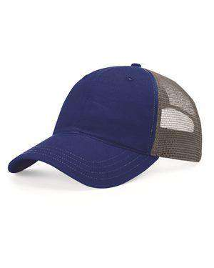 Brand: Richardson | Style: 111 | Product: Garment Washed Trucker Cap