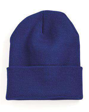 "Brand: Yupoong | Style: 1501KC | Product: 12"" Cuffed Beanie"
