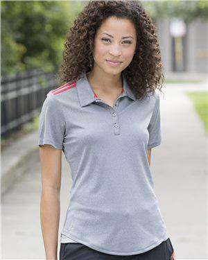 Brand: Adidas | Style: A235 | Product: Women's Climacool 3-Stripes Shoulder Sport Shirt
