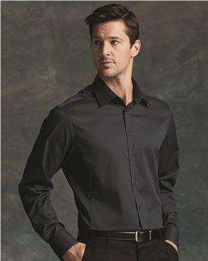 Brand: Calvin Klein | Style: 13CK035 | Product: Slim Fit Non-Iron Dobby Pindot Shirt