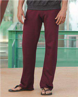 Brand: JERZEES | Style: 974MPR | Product: NuBlend® Open Bottom Sweatpants with Pockets