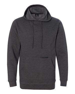 Burnside Men's Zipper Pocket Hoodie Sweatshirt
