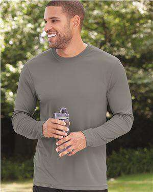 Brand: Hanes | Style: 482L | Product: Cool Dri Long Sleeve Performance T-Shirt