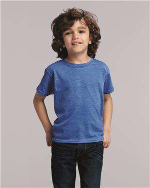 Brand: Gildan | Style: 64500P | Product: Softstyle Toddler Tee