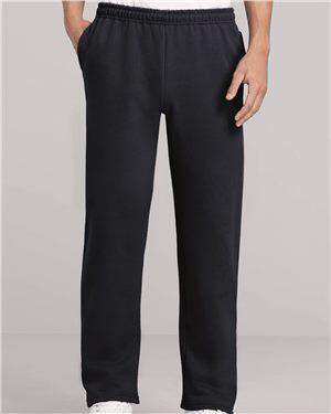 Brand: Gildan | Style: 18300 | Product: Heavy Blend Open Bottom Sweatpants with Pockets