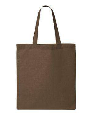 Q-Tees Economy Canvas Tote Bag - QTB
