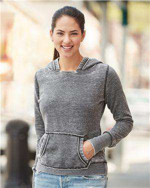 Brand: J. America | Style: 8912 | Product: Women's Zen Fleece Hooded Sweatshirt