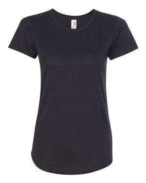 Anvil Women's Tri-Blend Scoop Neck T-Shirt - 6750L