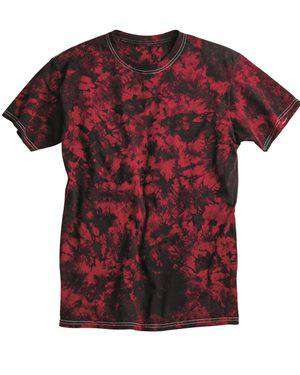Brand: Dyenomite | Style: 200CR | Product: Crystal Tie Dyed T-Shirts