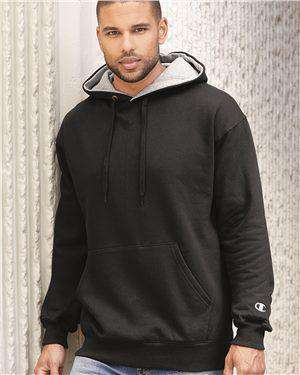 Brand: Champion | Style: S171 | Product: Cotton Max Hooded Sweatshirt