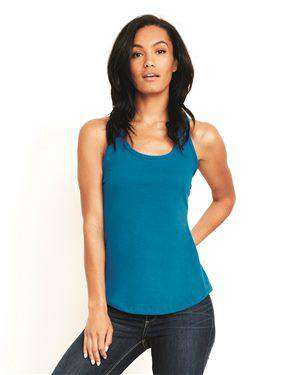 Brand: Next Level | Style: 6338 | Product: Women's Gathered Racerback Tank