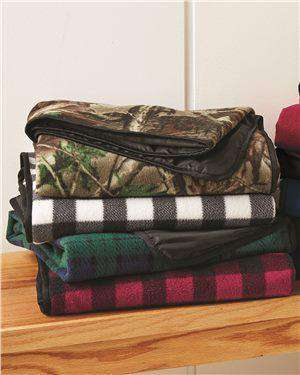 Brand: Alpine Fleece | Style: 8702 | Product: Patterned Picnic Blanket