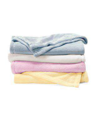Brand: Alpine Fleece | Style: 8722 | Product: Mink Touch Luxury Baby Blanket