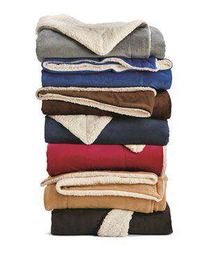 Brand: Alpine Fleece | Style: 8726 | Product: Oversized Sherpa Blanket