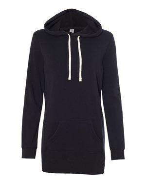 Independent Trading Women's Hoodie Sweatshirt Dress - PRM65DRS