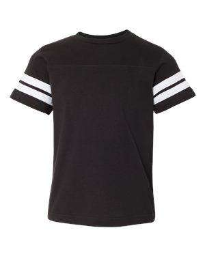 LAT Youth Fine Jersey Football T-Shirt - 6137