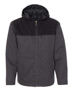 Dri Duck Men's Terrain Hoodie Canvas Jacket - 5058