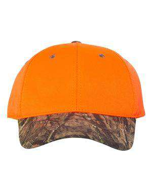 Outdoor Cap Camo Visor Blaze Crown Cap - 202IS