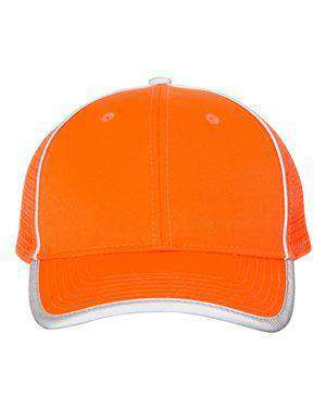 Outdoor Cap Safety Mesh-Back Trucker Cap