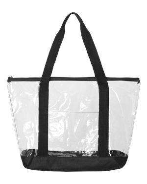 Liberty Bags Front Pocket Clear Boat Tote Bag