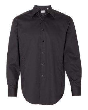 Calvin Klein Men's French Placket Dobby Dress Shirt